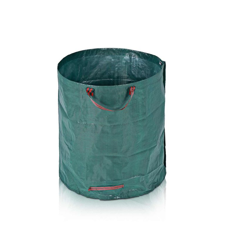 MAXCRAFT 3x Heavy Duty Garden Waste Bags made of sturdy Polyethylene fiber - 280 Liter