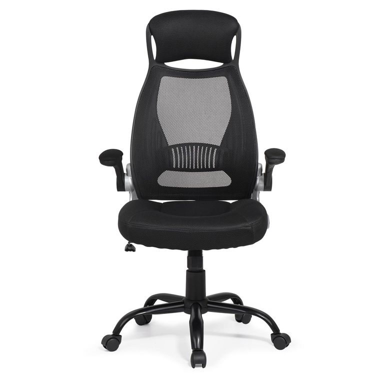 MY SIT Ergonomic Office Chair Barcelona with Lumbar Support in Black – Bild 4