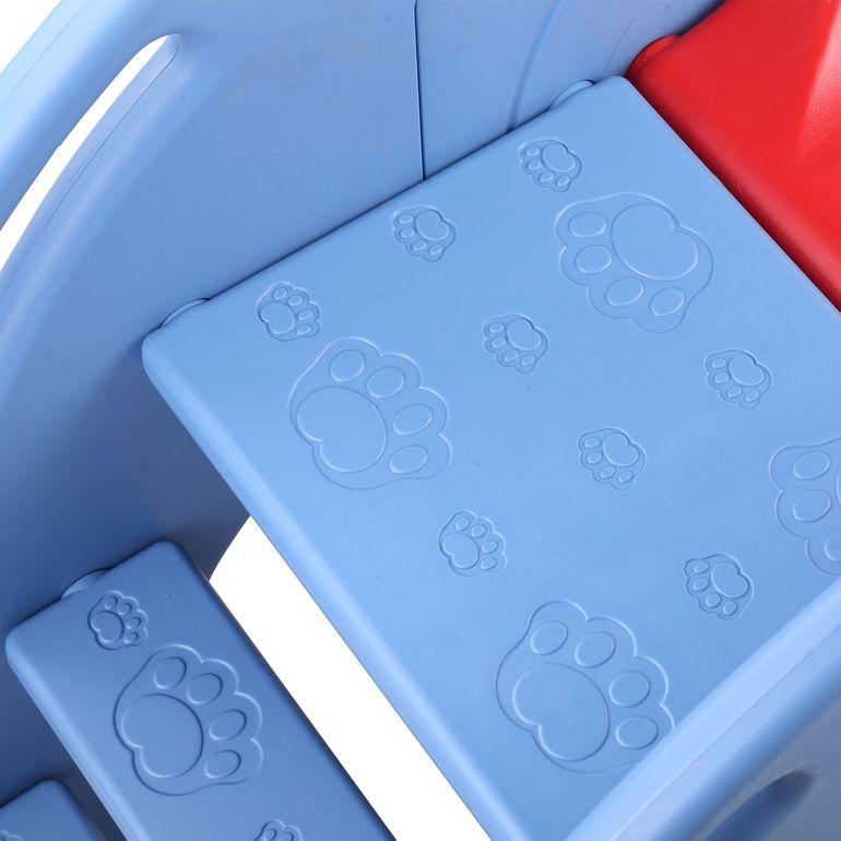 Baby Vivo Kinderrutsche / Rutsche - Elefant in Rot / Blau - B-Ware – Bild 9