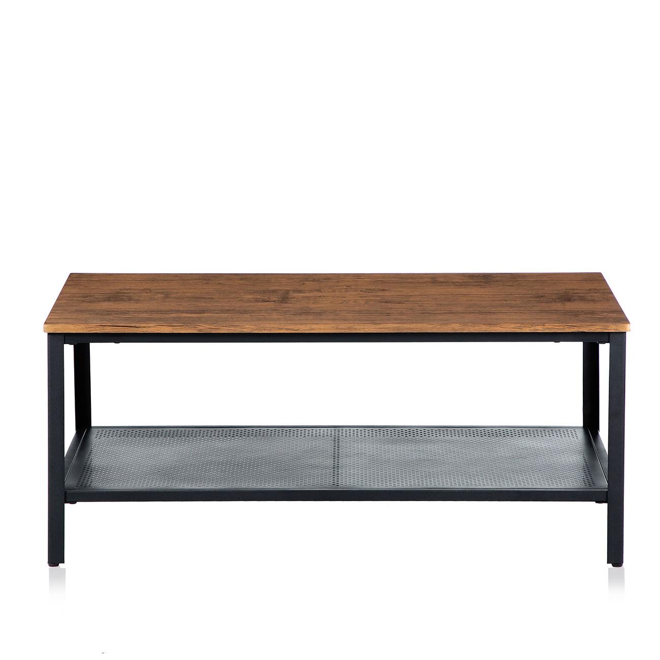 Tavolino Da Soggiorno Vintage.Makika Design Vintage Tavolino Da Salotto Tavolino Da Caffe Con Vano Portaoggetti