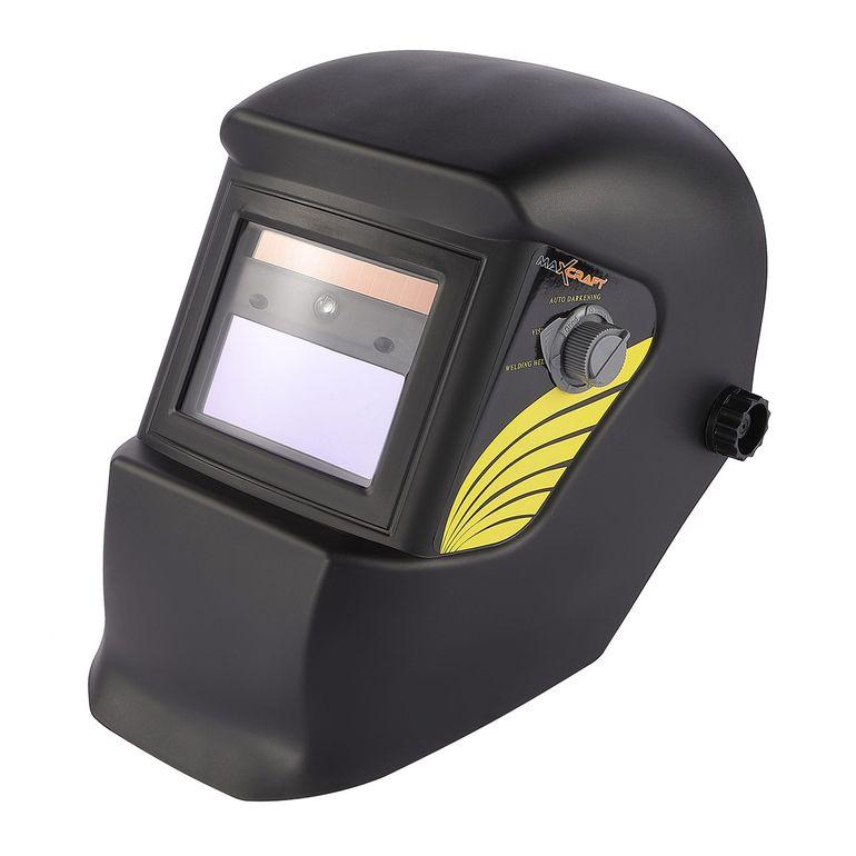 MAXCRAFT Schweißhelm mit automatischer Verdunklungsfunktion - 2 Sensoren – Bild 1
