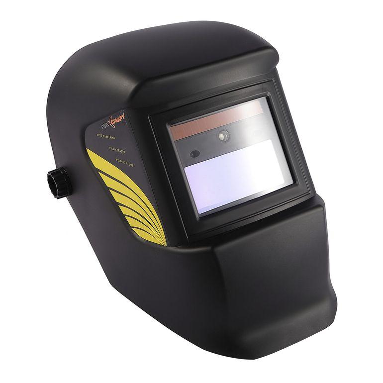 MAXCRAFT Schweißhelm mit automatischer Verdunklungsfunktion - 2 Sensoren