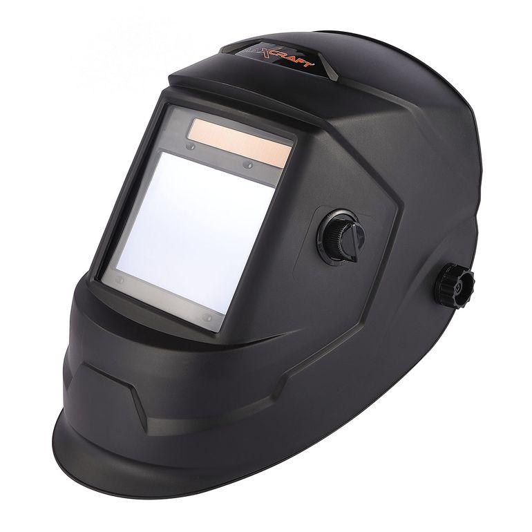 MAXCRAFT Schweißhelm mit automatischer Verdunklungsfunktion - 4 Sensoren