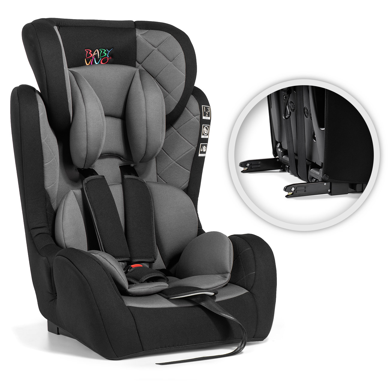 Baby Vivo ISOFIX Car Seat for Children