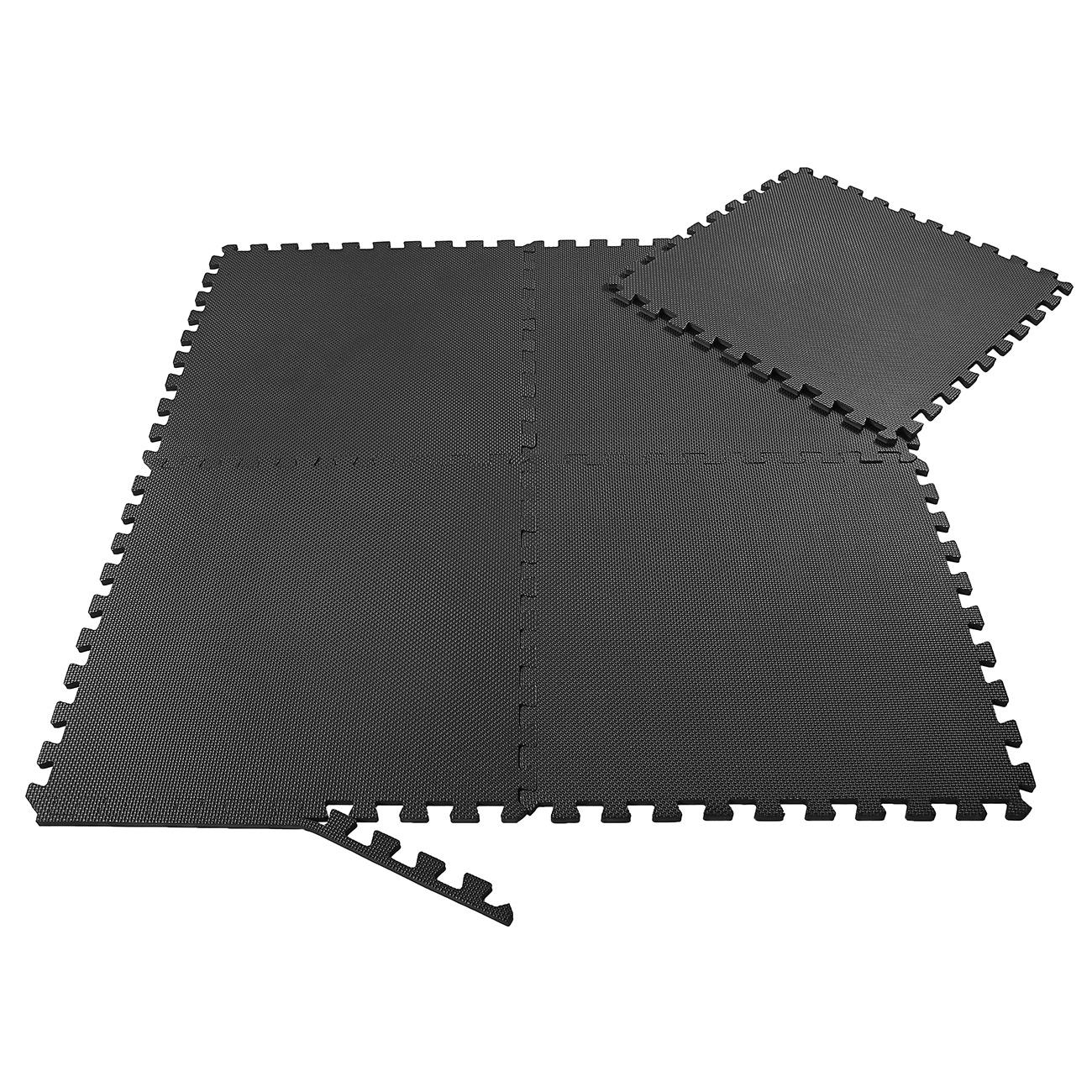 Protection de coffre tapis de sol Protection Tapis Fitness Tapis Tapis Entraînement Tapis Set Bleu