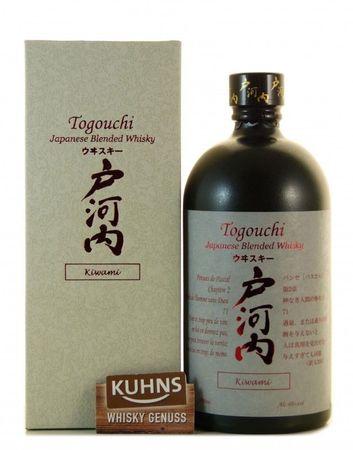 Togouchi Kiwami Japan Blended Whisky 0,7l, alc. 40 Vol.-%