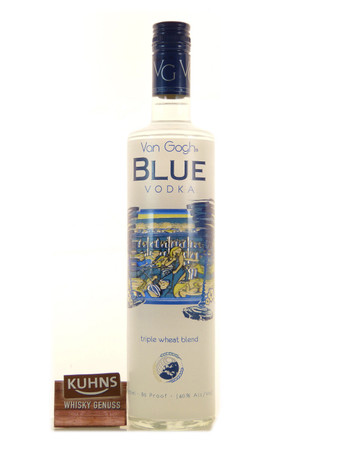 Vincent Van Gogh Vodka Blue 0,7l, alc. 40 Vol.-%, Wodka Niederlande