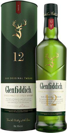 Glenfiddich 12 Jahre Speyside Single Malt Scotch Whisky 0,7l, alc. 40 Vol.-%