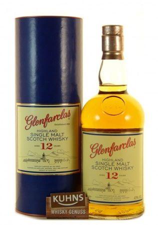 Glenfarclas 12 Jahre Speyside Single Malt Scotch Whisky 0,7l, alc. 43 Vol.-%