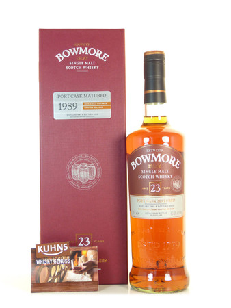 Bowmore 23 Jahre Port Cask Islay Single Malt Scotch Whisky 0,7l, alc. 50,8 Vol.-%
