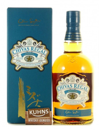 Chivas Regal Mizunara Blended Scotch Whisky 0,7l, alc. 40 Vol.-%