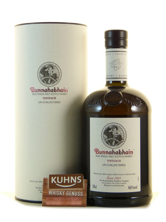 Bunnahabhain Toiteach Islay Single Malt Scotch Whisky 0,7l, alc. 46 Vol.-%