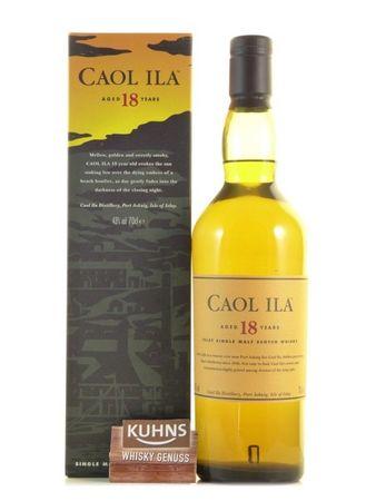 Caol Ila 18 Jahre Islay Single Malt Scotch Whisky 0,7l, alc. 43 Vol.-%