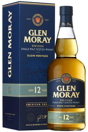 Glen Moray 12 Jahre Speyside Single Malt Scotch Whisky 0,7l, alc. 40 Vol.-%,