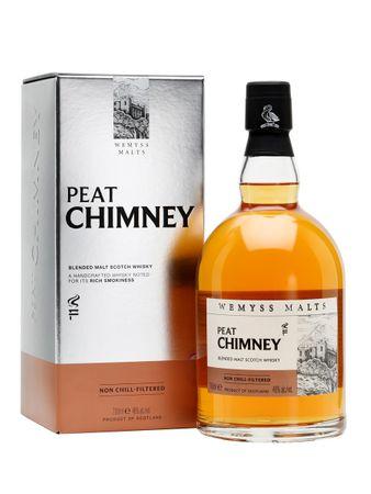 Peat Chimney Blended Malt Wemyss 0,7l, alc. 46 Vol.-%, Blended Scotch Whisky