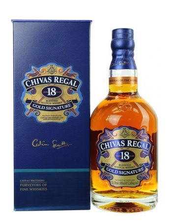 Chivas Regal 18 Jahre Blended Scotch Whisky 0,7l, alc. 40 Vol.-%