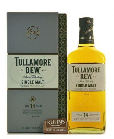 Tullamore Dew 14 Jahre Irish Single Malt Whiskey 0,7l, alc. 41,3 Vol.-%