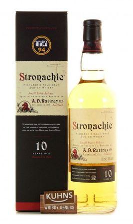 Stronachie 10 Jahre A.D.Rattray Highland Single Malt Scotch Whisky 0,7l, alc.43 Vol.-%