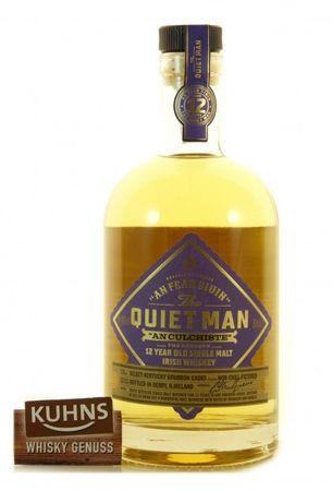The Quiet Man 12 Jahre Irish Single Malt Whiskey 0,7l, alc.46 Vol.-%