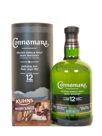 Connemara 12 Jahre Peated Single Malt Irish Whiskey 0,7l, alc. 40 Vol.-%