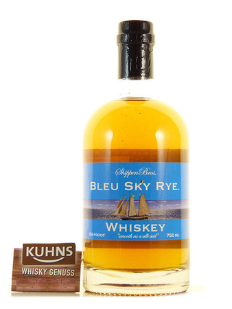 Bleu Sky Kentucky Rye Whiskey 0,7l, alc. 42 Vol.-%, USA Whiskey