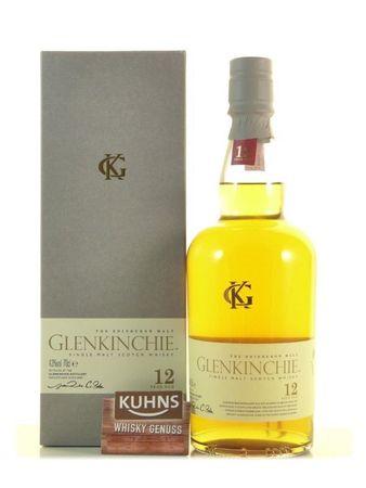 Glenkinchie 12 Jahre Lowlands Single Malt Scotch Whisky 0,7l, alc. 43 Vol.-%