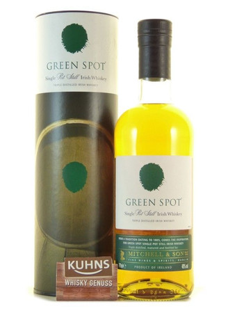 Green Spot Single Pot Still Irish Whiskey 0,7l, alc. 40 Vol.-%