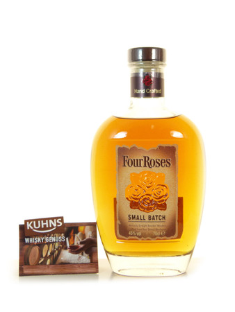 Four Roses Small Batch Kentucky Straight Bourbon 0,7l, alc. 45 Vol.-%, USA Whiskey