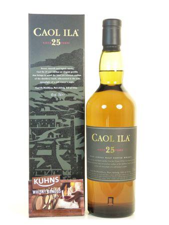 Caol Ila 25 Jahre Islay Single Malt Scotch Whisky 0,7l, alc. 43 Vol.-%