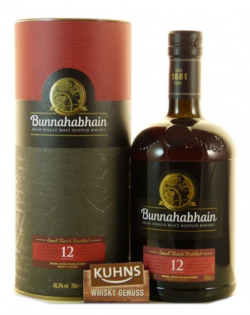 Bunnahabhain 12 Jahre Islay Single Malt Scotch Whisky 0,7l, alc. 46,3 Vol.-%