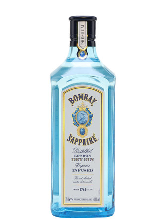 Bombay Sapphire London Dry Gin 0,7l, alc. 40 Vol.-%, Gin England