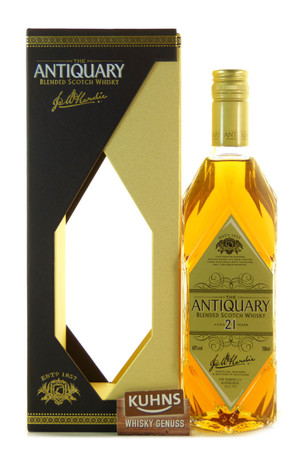 Antiquary 21 Jahre Blended Scotch Whisky 0,7l, alc. 43 Vol.-%