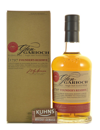 Glen Garioch Founder's Reserve Highland Single Malt Scotch Whisky 0,7l, alc. 48 Vol.-%