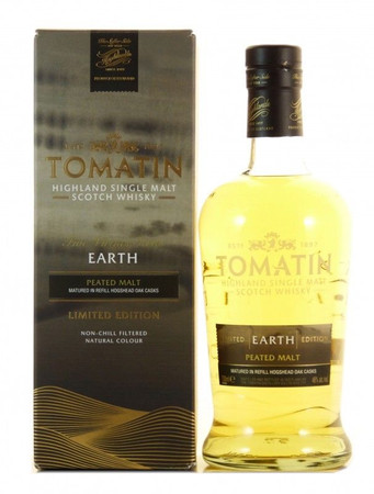 Tomatin Earth Highland Single Malt Scotch Whisky 0,7l, alc. 46 Vol.-%