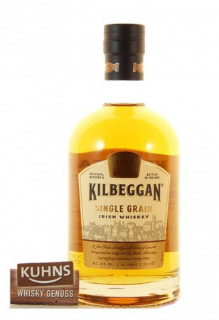 Kilbeggan Single Grain Irish Whiskey 0,7l, alc. 43 Vol.-%