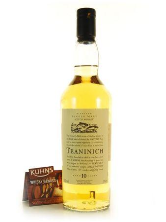 Teaninich 10 Jahre Flora & Fauna Highland Single Malt Scotch Whisky 0,7l, 43 Vol.-%