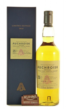 Auchroisk 25 Jahre Natural Cask Strength Speyside Single Malt Scotch Whisky 0,7l alc. 51,2 Vol.-%
