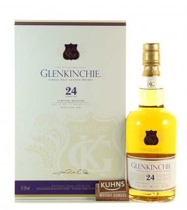 Glenkinchie 24 Jahre Natural Cask Strength Lowlands Single Malt Scotch Whisky 0,7l