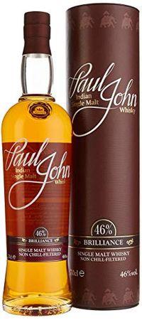 Paul John Brilliance Indian Single Malt Whisky 0,7l, alc. 46 Vol.-%