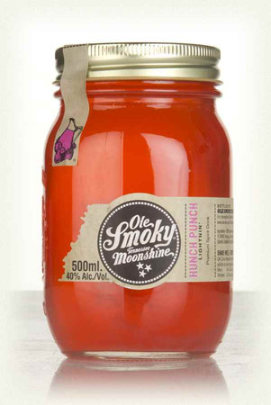 Ole Smoky Moonshine Hunch Punch Lightnin' 0,5l, alc. 40 Vol.-%, USA Whiskey