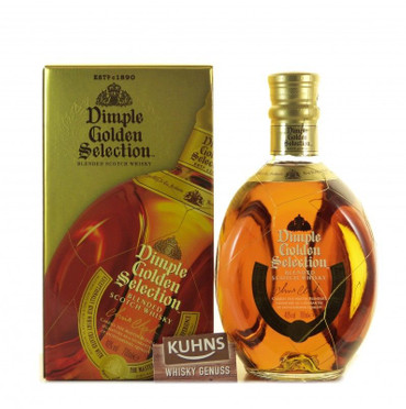 Dimple Golden Selection Blended Scotch Whisky 0,7l, alc. 40 Vol.-%