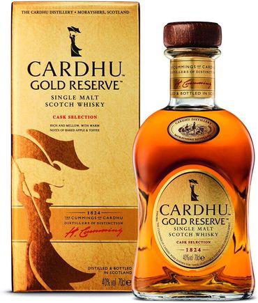 Cardhu Gold Reserve Speyside Single Malt Scotch Whisky 0,7l, alc. 40 Vol.-%
