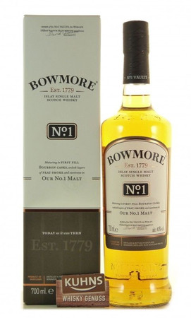 Bowmore No.1 Islay Single Malt Scotch Whisky 0,7l, alc. 40 Vol.-%
