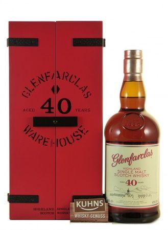 Glenfarclas 40 Jahre Warehouse Speyside Single Malt Scotch Whisky 0,7l, alc. 43 Vol.-%