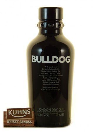 Bulldog London Dry Gin 0,7l, alc. 40 Vol.-%, Gin England