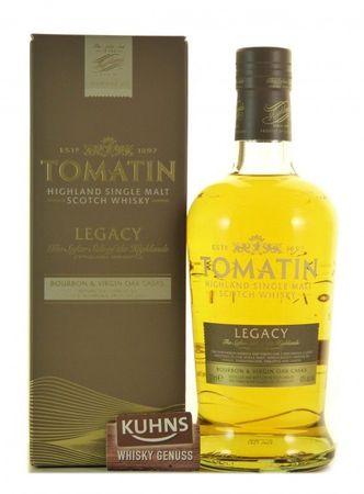 Tomatin Legacy Highland Single Malt Scotch Whisky 0,7l, alc. 43 Vol.-%
