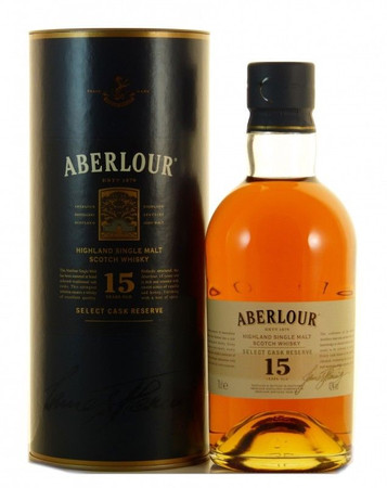 Aberlour 15 Jahre Select Cask Reserve Speyside Single Malt Scotch Whisky 0,7l