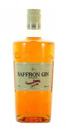 Saffron Gin 0,7l, alc. 40 Vol.-%, Dry Gin Frankreich