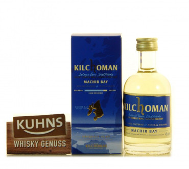 Kilchoman Machir Bay Miniatur Islay Single Malt Scotch Whisky 0,05l, alc. 46 Vol.-%
