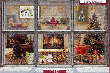 Gin-Adventskalender Edition Klassik 24x0,02l, Gin aus 24 Ländern